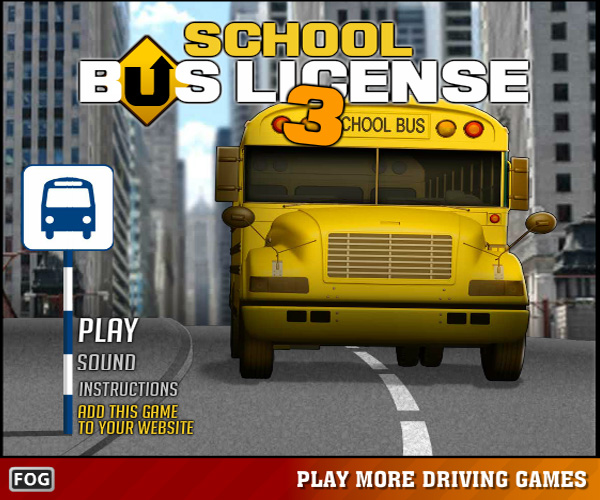 School Bus License 2 - Car Games - Truck Games - Parking Games
